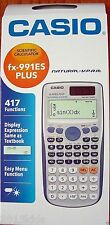 Casio FX991 ES Plus Scientific calculator 417 Functions Dual Power USPS Carrier