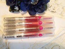 X 4 N.Y.C. Liquid Lipsticks -433A CHRISTINE- 437A ANNE- 439A- AUDRE~440A JESSICA