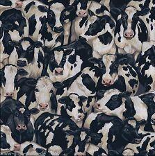 Patchworkstoff Cows Baumwollstoffe Kühe Stoff Kuh Tiermotiv Patchwork Baumwolle