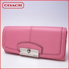 NWT COACH 48982 Kristin Leather Slim Envelope Wallet clutch