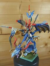 CLASSIC METAL HIGH ELF PRINCE IMRIK ON DRAGON WELL PAINTED (L)