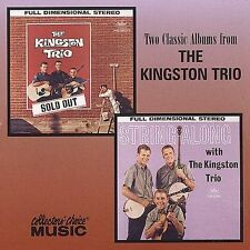 CD-The Kingston Trio-Sold Out/String Along Jul-2001, Collectors' Choice ...