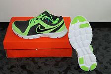 Nike Flex Damen Running Schuhe Neon Gelb Schwarz Größe 38 US 5,5Y, UK 5