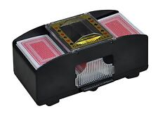 QUALITY AUTOMATIC BATTERY POWERED POKER CASINO ONE/TWO DECK CARD SHUFFLER SORTER