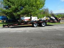 1987 BUTLER 23' 10-TON T/A TAGALONG EQUIPMENT TRAILER