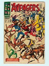 The Avengers #44 6.5 FN+  Silver Age Marvel Comic Book Origin of Black Widow