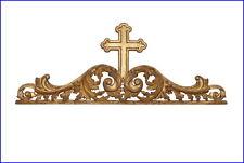 Supraporte - Rahmenaufsatz - Holz geschnitzt - mitte 19. Jahrhundert  (# 6682 )