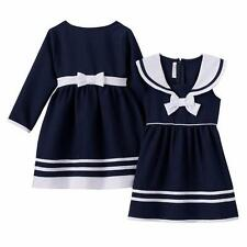 BONNIE JEAN BABY Girls' 12M Sailor Dress & Coat Set *NWT*