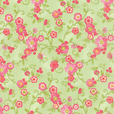 MODA Fabric ~ COLETTE ~ by Chez Moi (33051 14) Floral/Leaf - by 1/2 yard