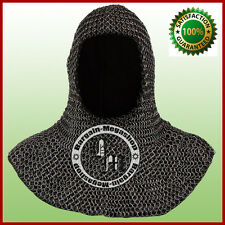 Chainmail Coif For Sale Chain Coif Armour Chain Mail Hood Chain Mail Clothing a1