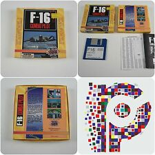 F-16 Combat Pilot A Action Sixteen Game  for the Commodore Amiga tested&working