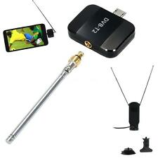 DVB-T2 TV Tuner DVBT2 Pad Receiver Micro USB DVB-T for Android Phone Tablet 0G7B