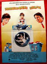 PROBLEM CHILD 1990 MICHAEL OLIVER JOHN RITTER JACK WARDEN RARE EXYU MOVIE POSTER
