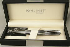 Online Germany Business Line Black Cisele & Chrome Rollerball Pen - New