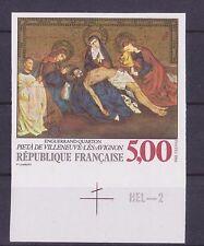 n° 2558 Pieta Villeneuve les Avignon, cote Y&T 80 €, neuf **, non dentelé, 1988
