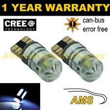2X W5W T10 501 CAN BUS BLANCO LIBRE DE ERRORES LED CREE BOMBILLAS INTERIORES