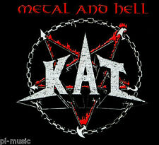 "= KAT - "" METAL & HELL "" / CD sealed digipack from Poland"