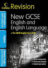COLLINS REVISION - NEW GCSE ENGLISH AND ENGLISH LANGUAGE-  AQA -  HIGHER