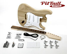 Pit Bull Guitars STA-1 Ash Body Electric Guitar Kit