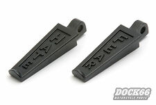 Fußrasten schwarz Footpegs black ROCKET INC. Hate & Fear für Harley u. Custom