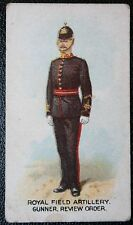 Royal Field Artillery  Gunner    British Army  1912  Vintage Card   VGC
