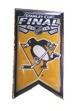 Pittsburgh Penguins Lapel Pin Banner Design 2016 Stanley Cup Finals NHL Licensed