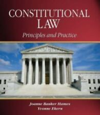 Constitutional Law: Principles and Practice (West Legal Studies)
