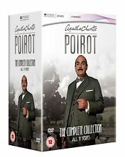 Agatha Christie's Poirot - Complete Series 1-11  David Suchet NEW DVD