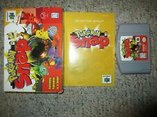 Pokemon Snap (Nintendo 64, 1999) Complete in Box GREAT