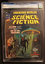 UNKNOWN WORLDS OF SCIENCE FICTION #1 Bradbury ADAMS Kaluta Brunner CGC NM/MT 9.8