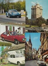 RENAULT CARS 85 CARTES POSTALES (mostly 1950-1980 period)