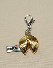 New BRIGHTON 'China Tale' CHINESE FORTUNE COOKIE clip-on charm FREE SHIPPING !