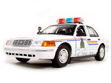 2001 FORD CROWN VICTORIA ROYAL CANADIAN MOUNTED POLICE CAR 1/18 MOTORMAX 73503