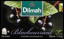 DILMAH Tee -  Blackcurrant Flavoured Black Ceylon Tea 20 Teebeutel .
