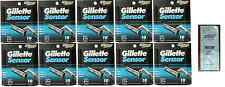 Mens Gillette Sensor Razors Blades, 100 Cartridges + Free LovingCare Packet