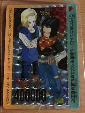 Carte Dragon Ball Z DBZ PP Card Part 17 #718 Prisme (Version Soft) AMADA 1992