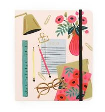 RIFLE PAPER CO 17 MONTH AGENDA DESKTOP LARGE PLANNER ORGANIZER MONTHLY WEEKLY
