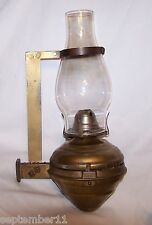 Railroad Car Oil  Wall Mount Lamp / Bracket White Flame CO. Grand Rapids, Mich.