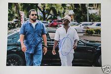 """Ice Cube & Kevin Hart 20x30cm """"Ride Along 2  Miami"""" Foto + Autogramm / Autograph"""