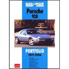 Road & Track Porsche 928 Portfolio 1977-1994 book paper