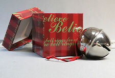 LIONEL THE POLAR EXPRESS SLEIGH BELL DECORATION train christmas tree box 9-22043