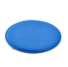 Sitzkissen Sitz Auflage Kissen rund gepolstert  Filz  Ø 36 cm hell blau