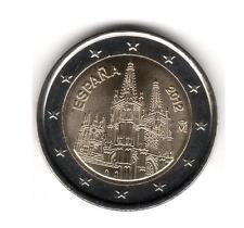 ESPAÑA 2012 - 2 euros conmemorativos, LA CATEDRAL DE BURGOS S/C...