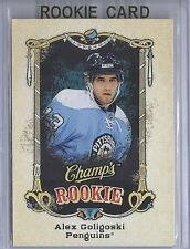 2008-09 UPPER DECK CHAMP'S ALEX GOLIGOSKI RC UD ROOKIE SP #140 PENGUINS