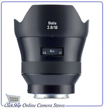 Zeiss Batis 18mm f/2.8 Lens for Sony E Mount (Mfr# 2136-691) Brand New in Stock!