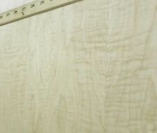 "Curly Figured Tiger Maple wood veneer 24"" x 96"" with PSA adhesive ""AA"" grade"