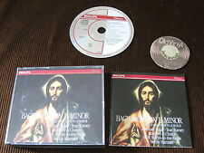 2 CD BACH mass in B minor Marshall Baker tear Ramey Full silver ring GERMANY