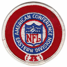 """1970'S AFC EASTERN DIVISION NFL FOOTBALL 3"""" LEAGUE LOGO PATCH"""