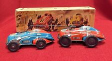 Vintage Tin Windup Wind Up Toy Car Made in Germany with box marked Nr. 260