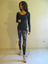 FAB NWT LULULEMON 12 IF YOU'RE LUCKY LUXTREME Blue Running Yoga Pants~SOLD OUT!!